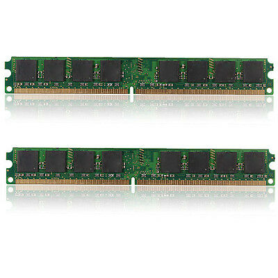 FOR INTEL & AMD 2GB 2x1GB PC2 6400 DDR2 800MHZ 240 PIN DESKTOP SORAM MEMORY RAM