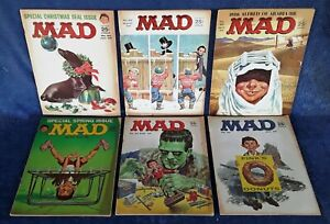 MAD-MAGAZINES-6-ISSUES-FROM-1964-JAN-MAR-APR-JUN-SEPT-OCT