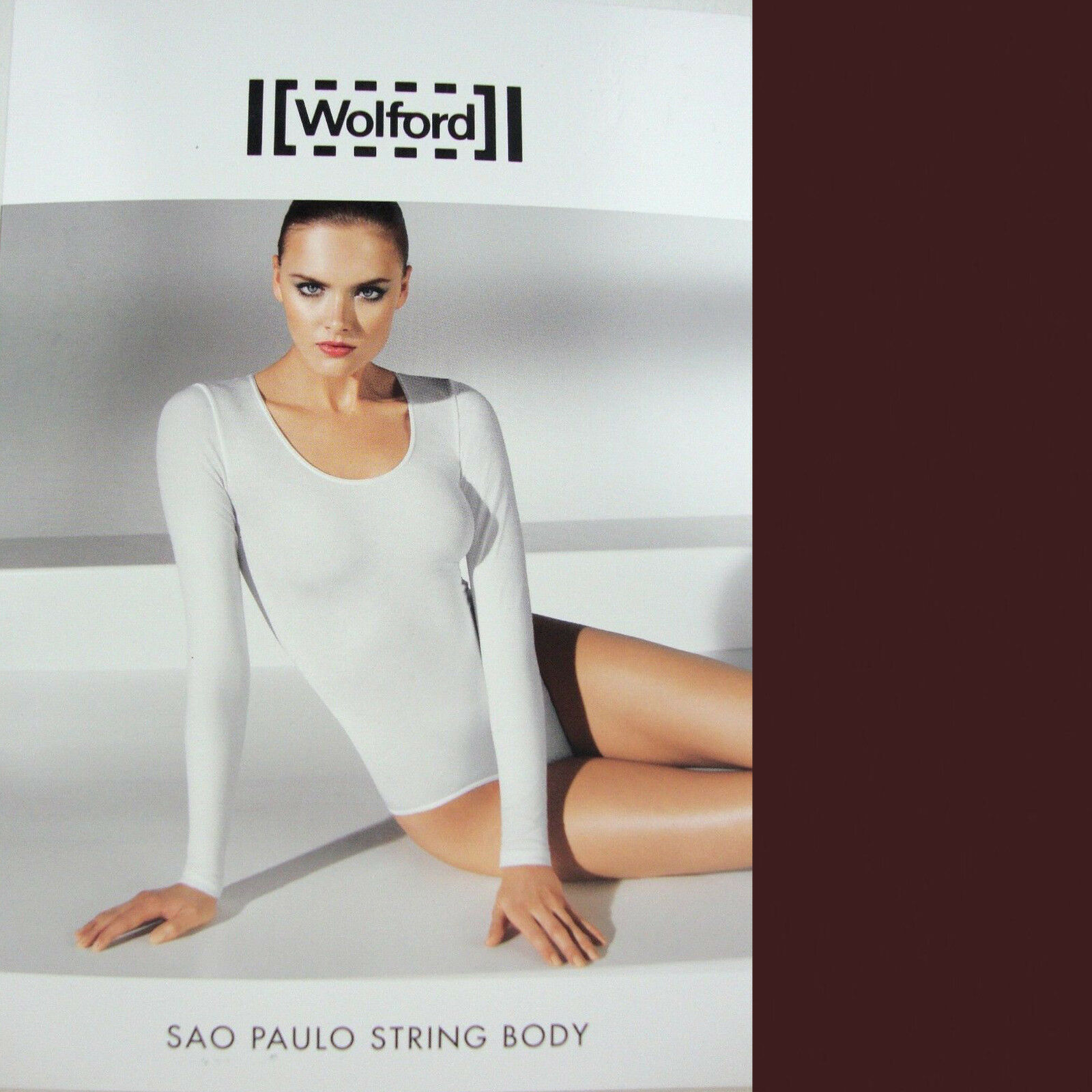 Wolford Sao Paulo Stbague Body  Java... Parfait Styling à de Nombreuses Occasions