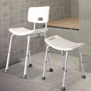 Bath Shower Chair Bench Portable Medical Stool Adjustable