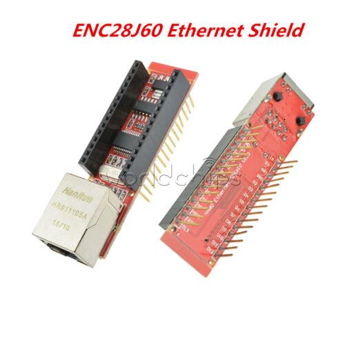 ENC28J60 Ethernet Shield HR911105A pour Arduino Nano 3.0 RJ45 Serveur Web Module