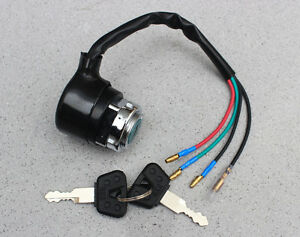 Details about HONDA ST70 CG SL125 TL125 XL125 CB175 CD175 CB250 CB350  IGNITION SWITCH 4 WIRE