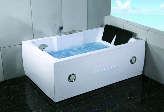 tub hot white massage hydrotherapy whirlpool p jetted indoor heat person bathtub s new