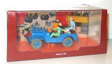 TIM und STRUPPI Jeep CJ 2a Tintin Modellauto Moulinsart 1/43 Neu (K39)