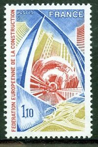 STAMP-TIMBRE-FRANCE-NEUF-N-1934-CONSTRUCTION