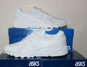huge discount 29475 bd70f Details about Asics Gel-Kayano Evo White Trainer