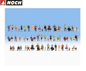 NOCH-N-38401-Mega-Spar-Set-60-Figuren-ohne-Baenke-NEU-OVP