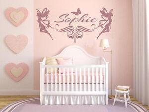Details zu Wandtattoo NAME Kinder Mädchen Wunschname Kinderzimmer Baby Fee  Wunschname pk119