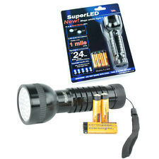 41/21 Super LED Dual Mode Torch  +Alkaline Batteries UK
