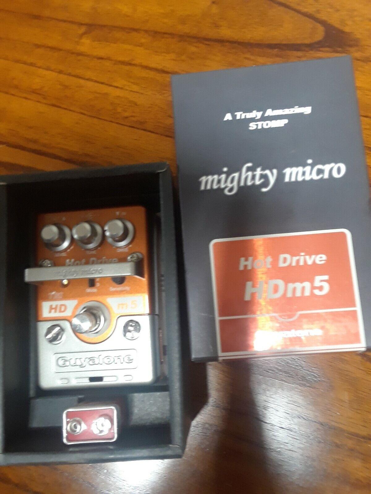 Guyatone HDm5 Mighty Micro Hot Drive Overdrive Guitar Effect Pedal MIJ Japan