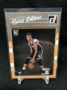 2016-17-Panini-Donruss-167-Caris-LeVert-RC-Rookie-Card-Brooklyn-Nets-NBA-S37