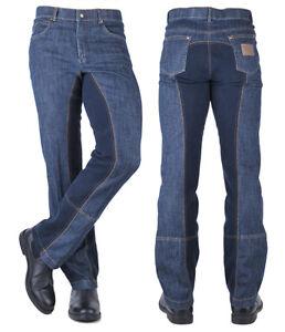 Professionel Luxusmode ausgewähltes Material Details zu HKM TEXAS Herren Jeans Jodhpur Reithose Gr.46-48-50-52-54-56  WESTERN Vollbesatz
