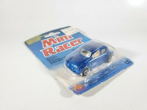 MC-Toys-May-Tat-Mini-Racer-Classic-Volkswagen-Beetle-Blue-VW-Bug-NEW-NOC-1-64