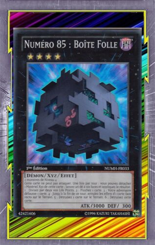 Number 85 crazy box numh-fr033 darkness demon xyz effect level 4 ygo