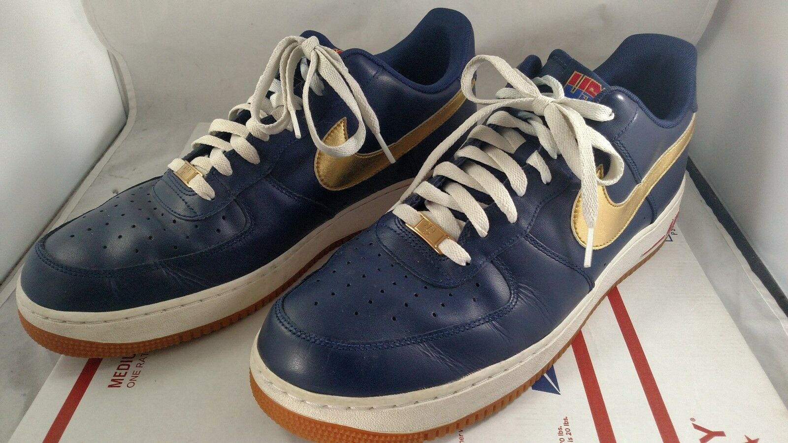 Nike Air Force 1 Low USA Olympic Shoes Size 14 Sneakers Swoosh 1982 Rare 2012
