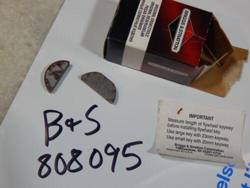 Briggs /& Stratton 808095 Woodruff Key Genuine Flywheel 805016 806066