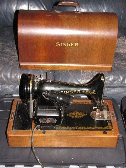 40 SINGER Sewing Machine Wood Case EBay Unique Ebay Sewing Machines Singer