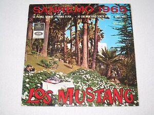 LOS-MUSTANG-SE-PIANGI-SE-RIDI-SAN-REMO-1965-SPANISH-ORIGINAL-ISSUE-EP-7-034
