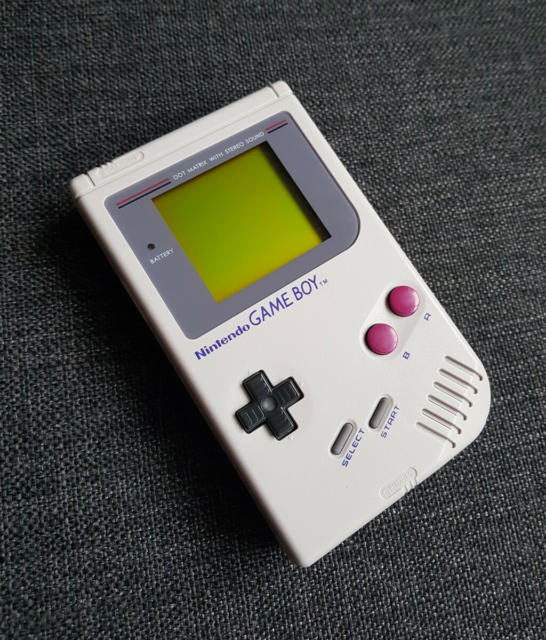 Nintendo Game Boy Classic, Klassisk Grå Gameboy DMG i flot…