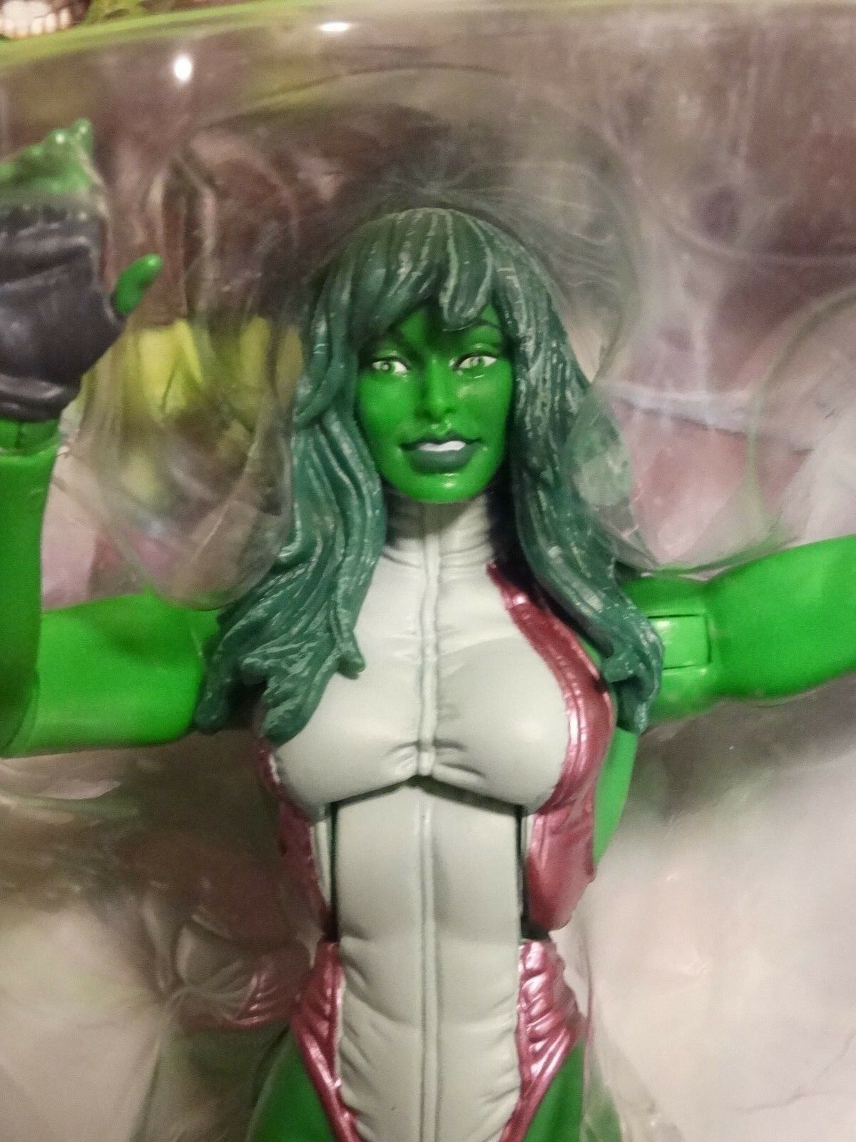 Marvel Legends SHE HULK -  MIP    w  BLOB UPPER TORSO BAF part   avengers force