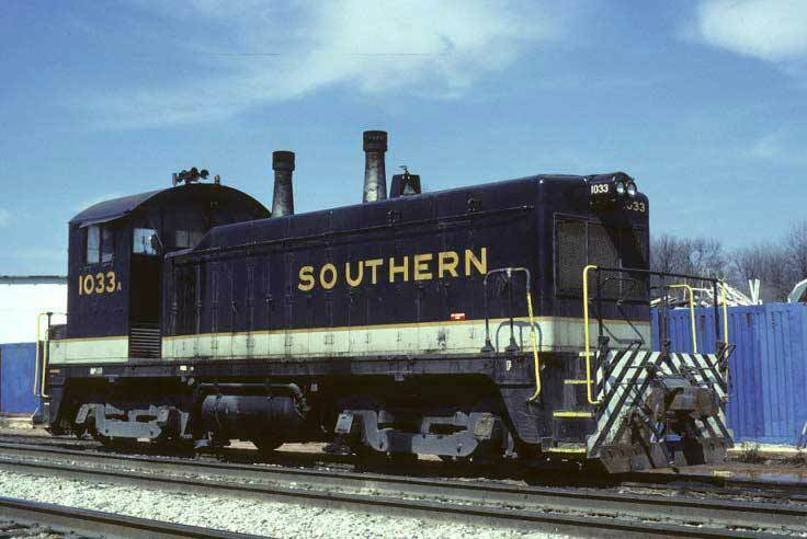 Southern HO Kato EMD NW2 phase II Diesel Loco