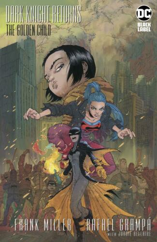 DARK KNIGHT RETURNS:THE GOLDEN CHILD #1 CVR A  DC COMICS  2019 STOCK IMG