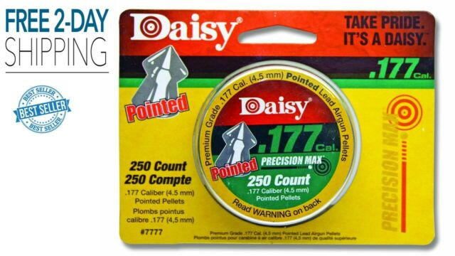 Pointed Pellets 250 Tin for sale online Daisy Ammunition and Co2 7777 .177 Cal