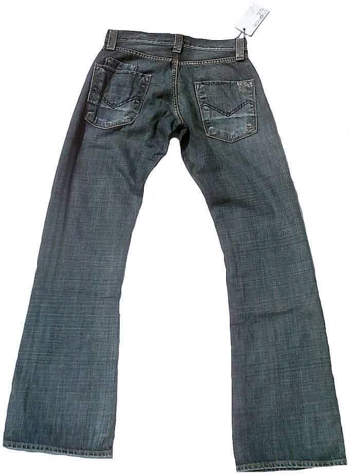 Jeans Original Hugo Boss Orange63 Tisch Schlanke Passform Blau Herren Jeans Größe 36/ Men's Clothing