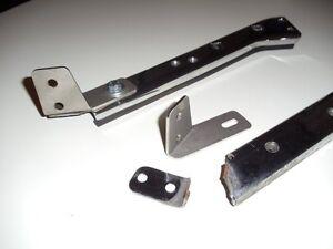 """Harley Touring Fender Saddlebag Support cket Strut """" FIX """" made"""