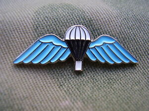 Details about British Army/Airborne Forces Military Para Wings Enamel  Lapel/Tie Pin Badge New!