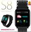 Smartwatch-orologio-Bluetooth-GPS-cardiofrequenzimetro-da-polso-s8-sport-cardio miniatura 1