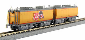Kato-N-Scale-2-Car-UP-Water-Tender-Set-for-FEF-3-4-8-4-Steam-Locomotive-106085