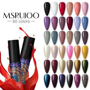 MSRUIOO-Nail-UV-Gel-Polish-Soak-off-Nail-Art-UV-Gel-Varnish-UV-LED-Gel-Color-5ml