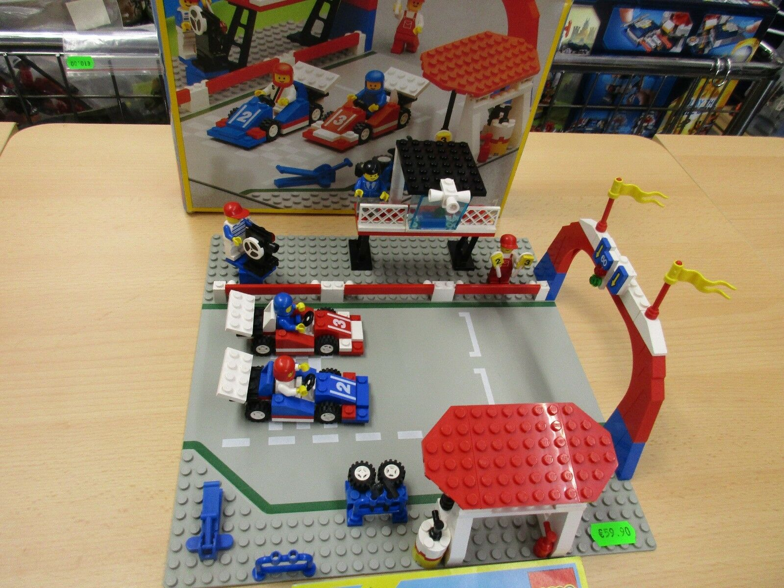 Lego 6381 Rennbahn. Komplett mit Anleitung und OVP