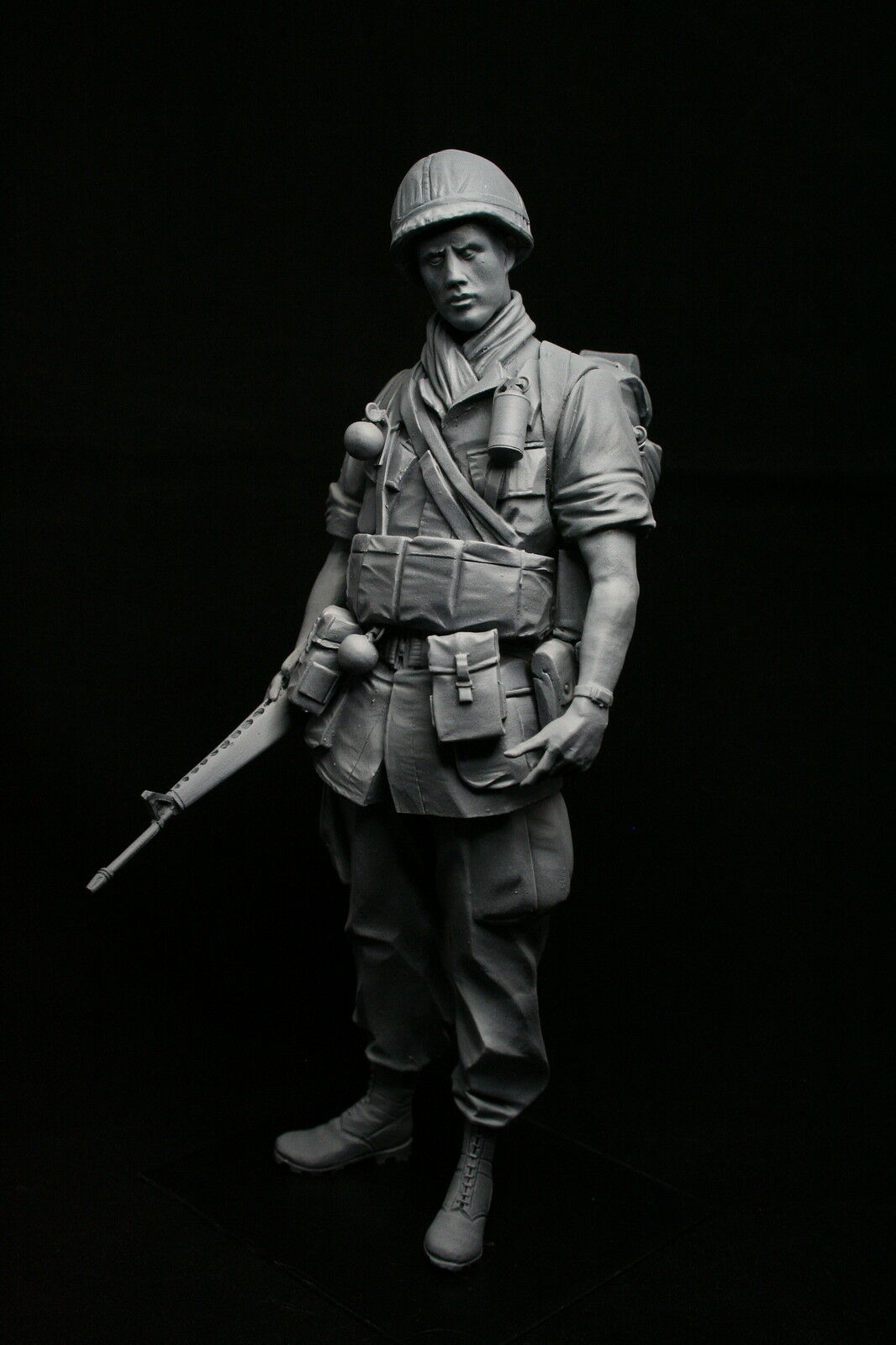 200mm 1 9 US Army Infantryman, Vietnam War