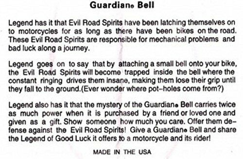 GUARDIAN BELL CRUISER COMPLETE MOTORCYCLE KIT W// HANGER /& WRISTBAND