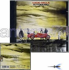 """LUCIO DALLA """"AUTOMOBILI"""" CD 2012 RISTAMPA - SIGILLATO"""