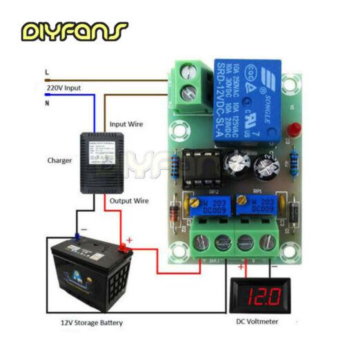 24 V Batterieladesteuerplatine Ladegerät Netzteil Schaltmodul 6-60 V 12 V
