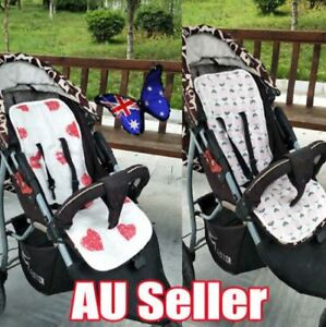 Reversible-Cotton-Filled-Pram-Liner-Seat-Liners-Pram-amp-Stroller-Accessories