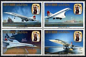 Bahrain-1976-SG-232-5-1st-Flight-Of-Concorde-MNH-Set-D48885