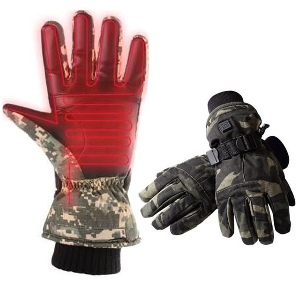 Unisex Electric Battery Heated Ski 52℃/ Gloves Waterproof Hand Winter 52℃/ Ski 45℃/38℃ d36d97