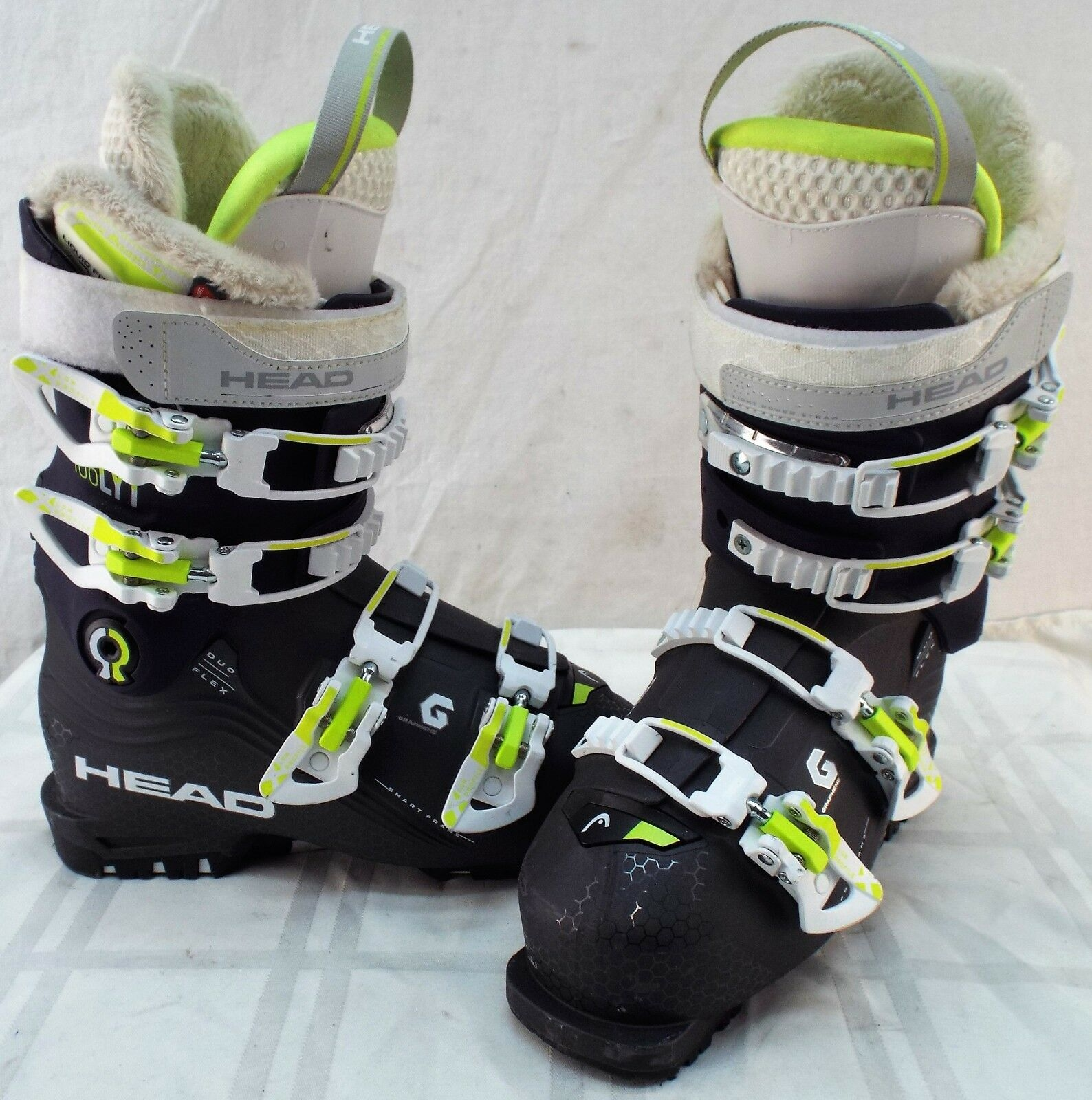 Head Nexo Lyt 100  Used Women's Ski Boots Size 23.5  the newest