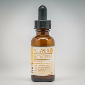 VITAMIN C 30% + E in PURE HYALURONIC ACID Anti Aging - Serum 1.2oz for Face