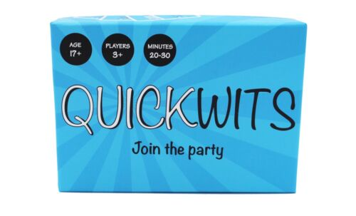 Quickwits Party Card Game A Fun and Social Adult Game