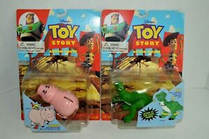 """Thinkway Toy Story HAMM 2/"""" Tall Bendable Figure New In Package 1995"""