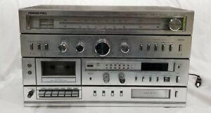 Soundesign-Stereo-Receiver-amp-Cassette-Recorder-amp-8-Track-Player-Model-5959-Works