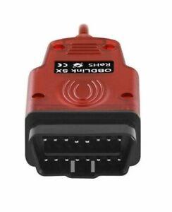USB-kompatibles Multiecuscan Renolink DDT4ALL OBDLink Scantool SX USB