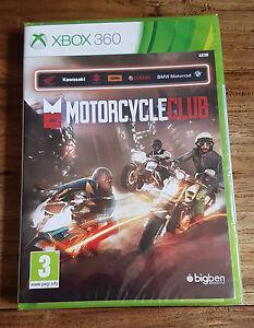 MOTORCYCLE-CLUB-Jeu-Xbox-360-Neuf-Sous-Blister-VF