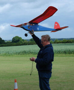 Details about Buzzard Bombshell Old Timer Vintage Free flight rc model  airplane plans