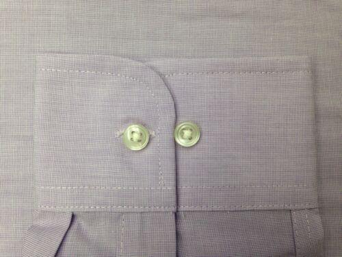 $95 CLUB ROOM Men REGULAR-FIT PURPLE LONG-SLEEVE BUTTON DRESS SHIRT 16.5 34//35 L